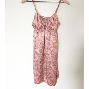 Victoria Secret Paisley Rose Silk Negligee